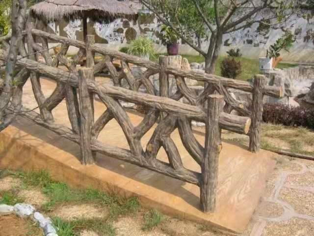 市面上绝大部分的成都仿木栏杆现场制作流程
