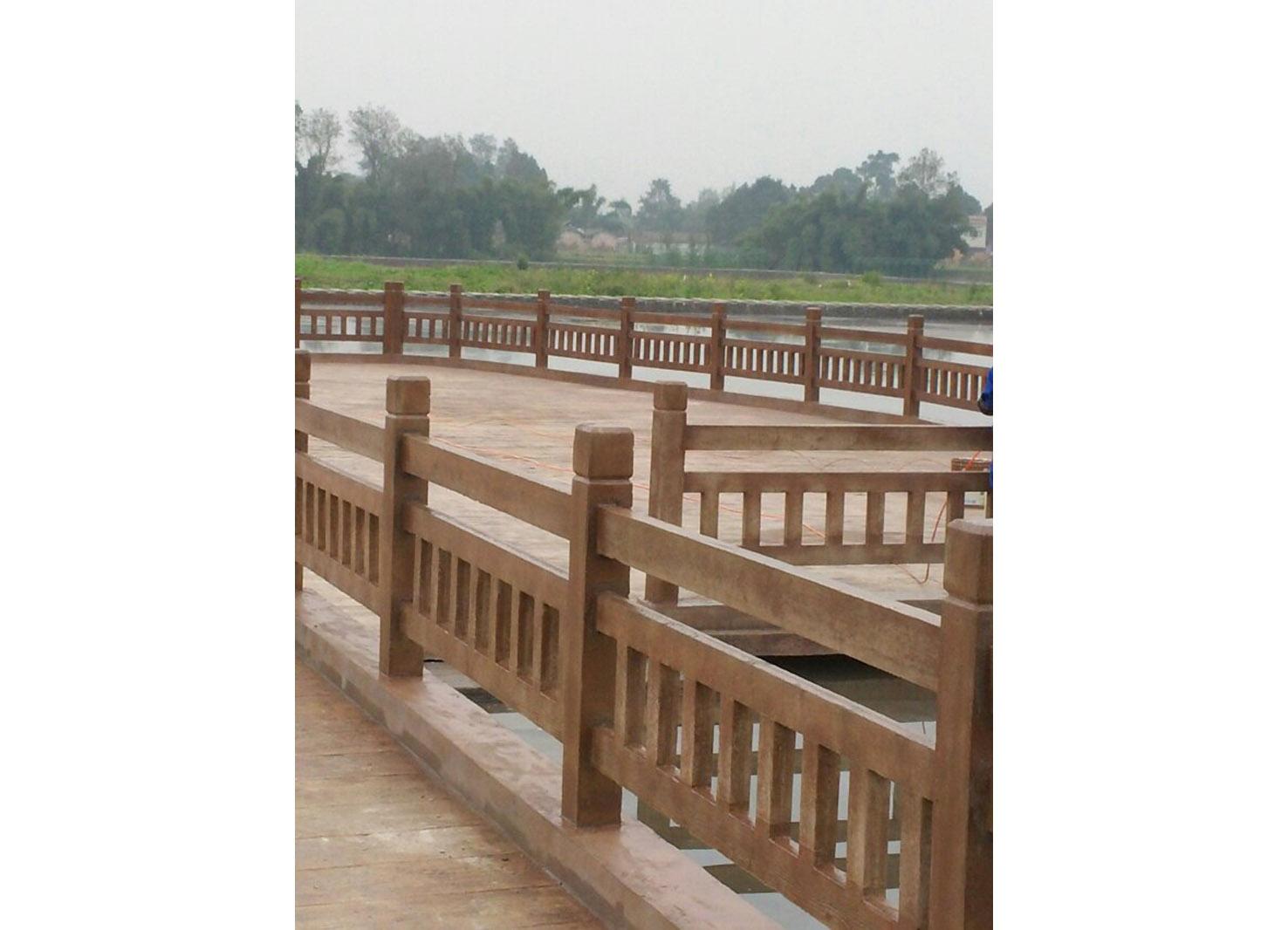 在安装成都仿木栏杆时的制作顺序是怎样?