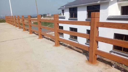 成都仿木栏杆如何安装,具体该如何施工?你知道吗?
