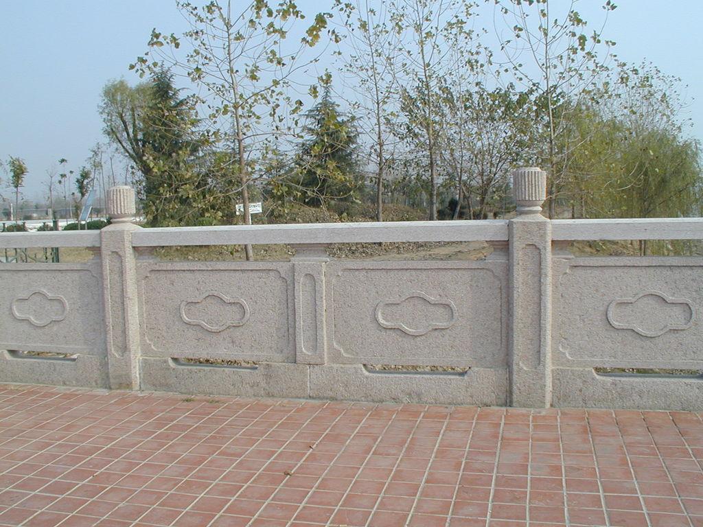 四川石欄桿都適合安裝在什么地方?