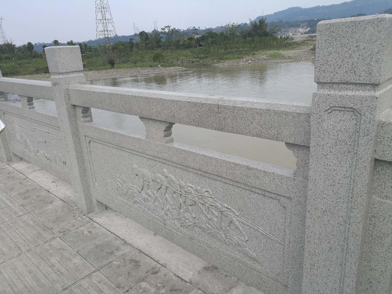 成都仿石欄桿的制作及應用