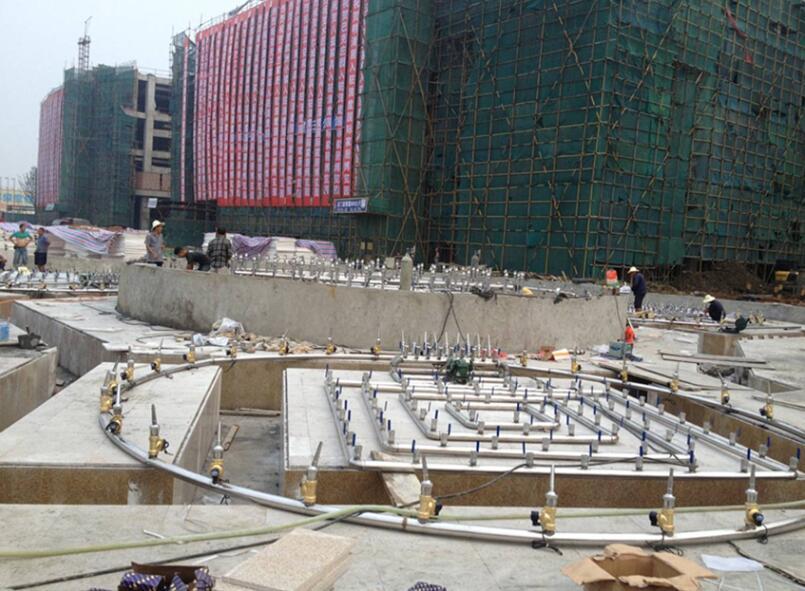 四川喷泉施工