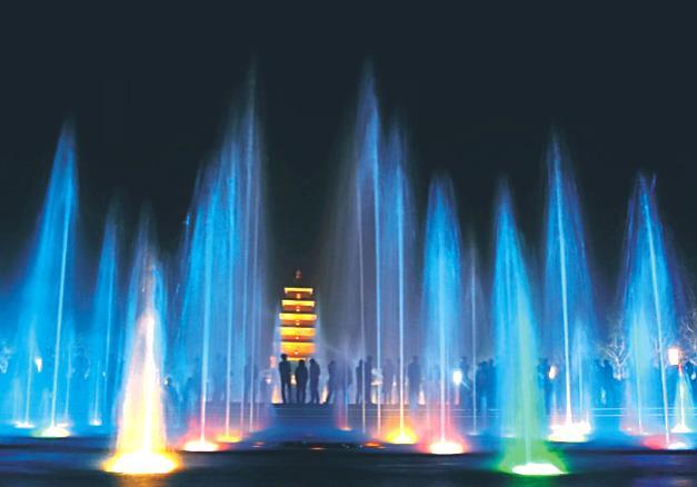 2016年四川省达州市广播电视大学喷泉项目