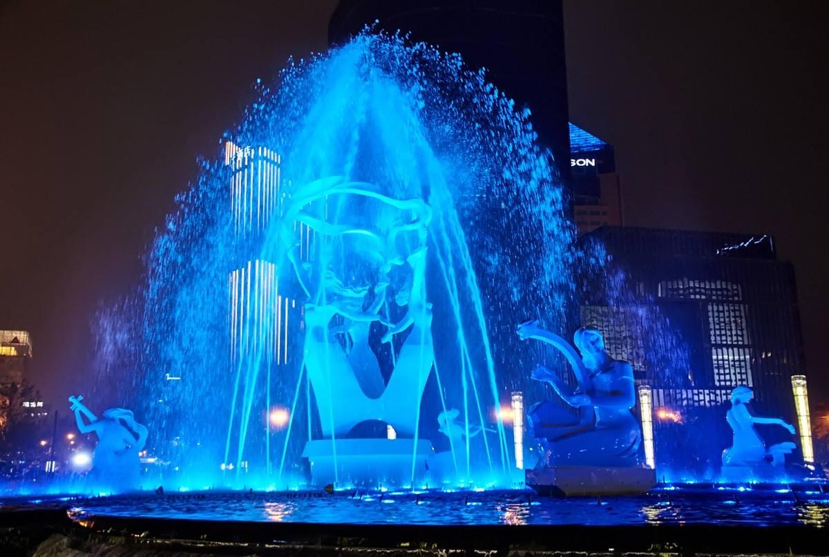 云南广场喷泉设计