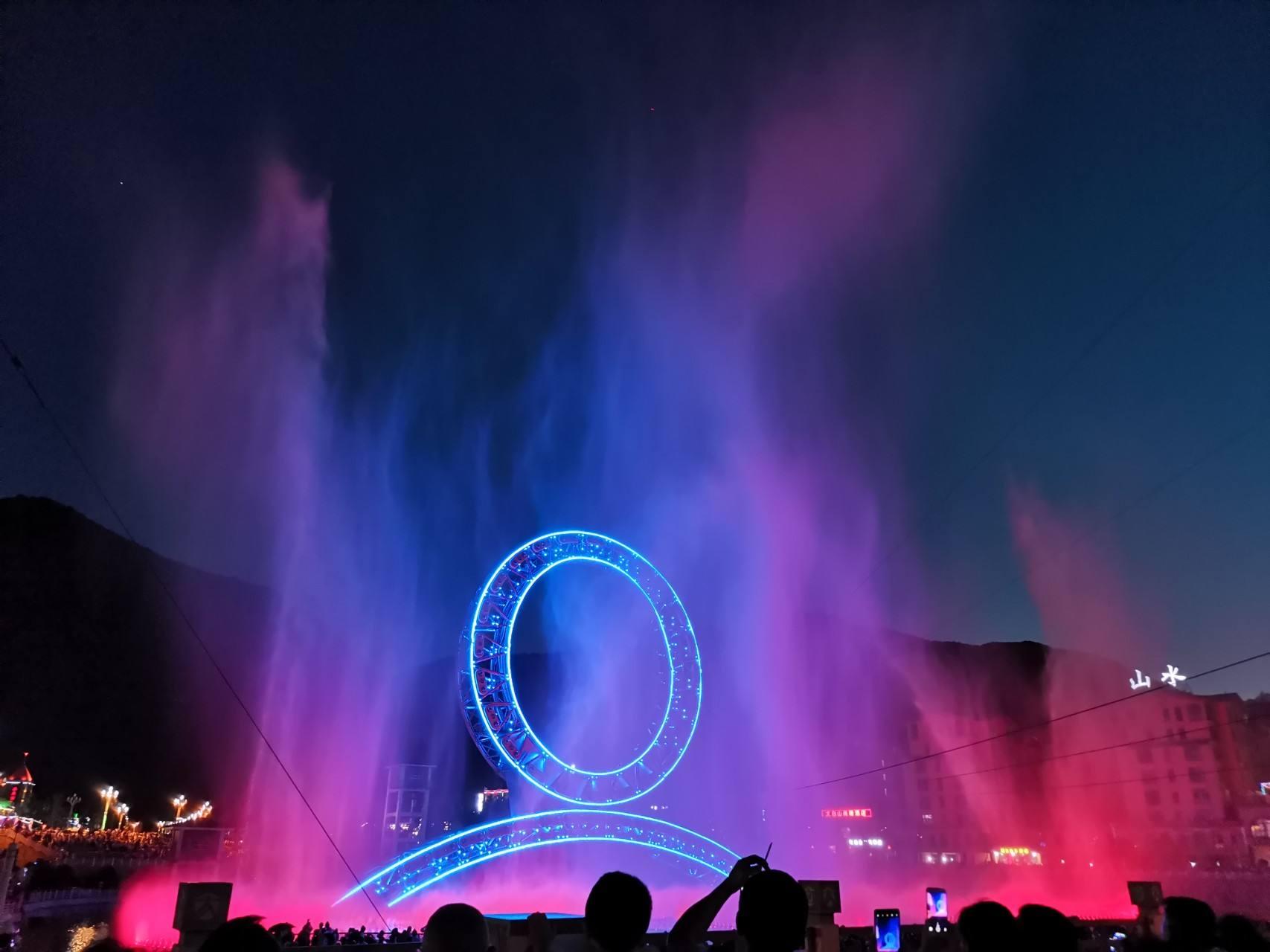 贵州水雾喷泉