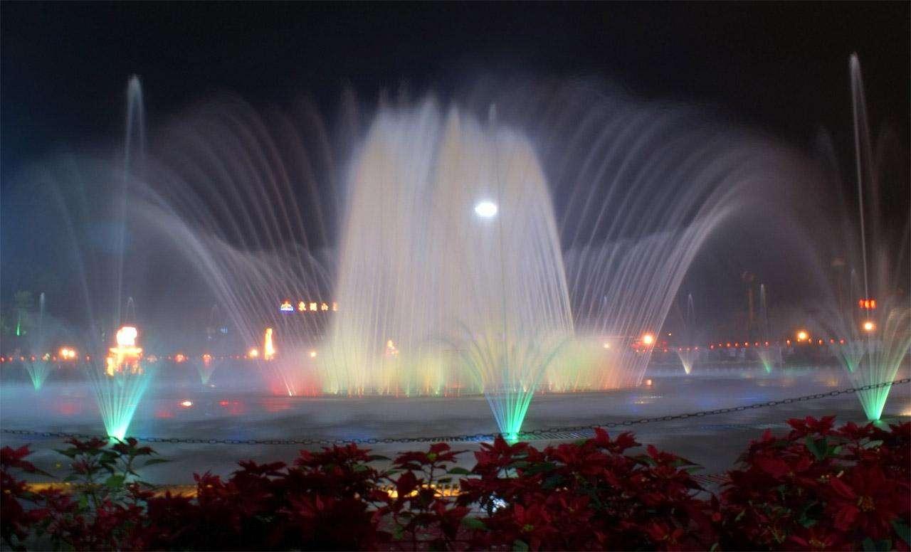 贵州程控喷泉设计