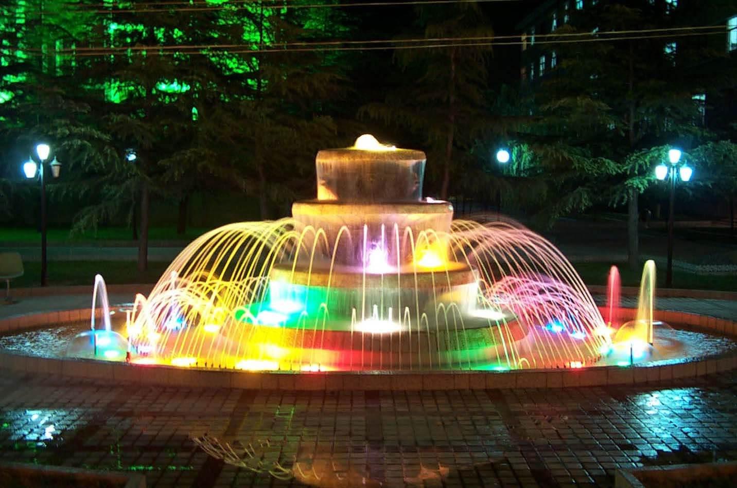云南旱喷泉设计