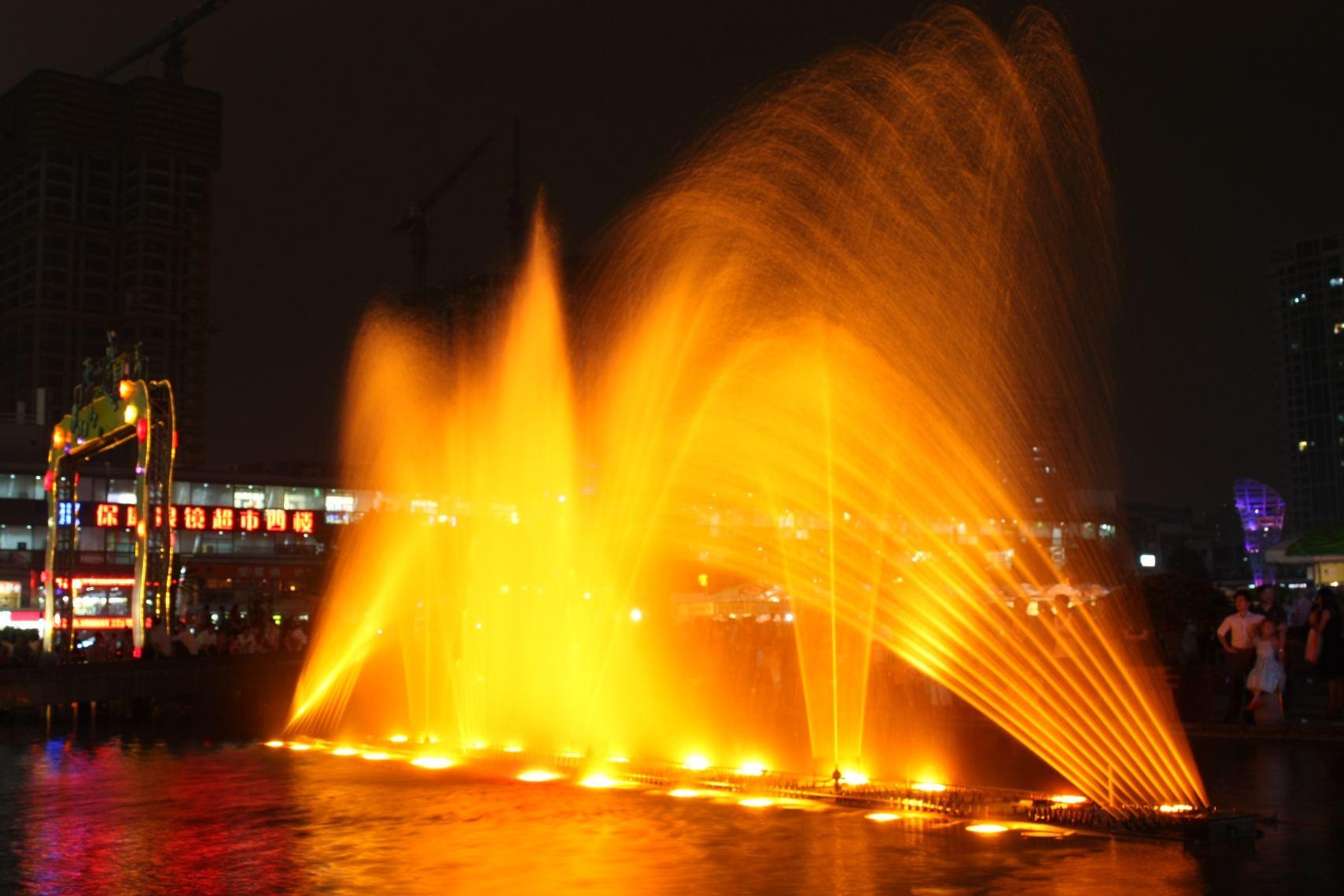 贵州广场喷泉