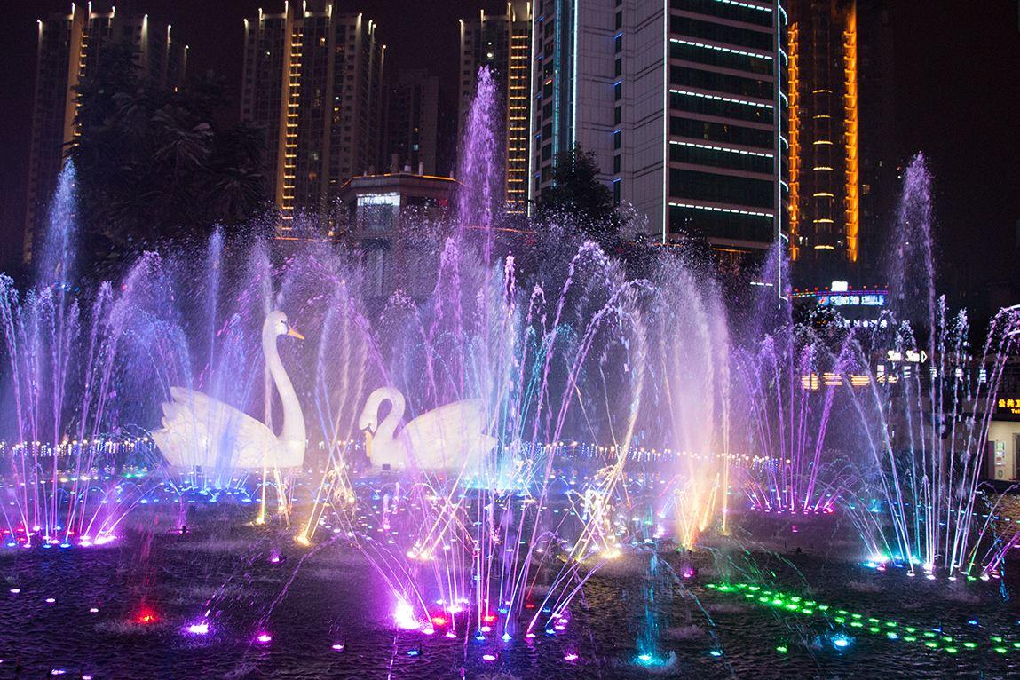 四川多媒体喷泉设计