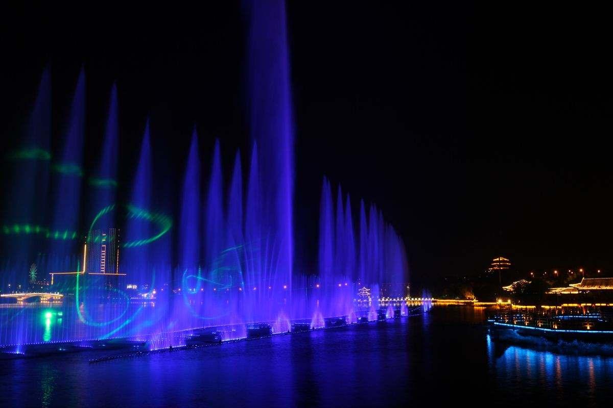 云南程控喷泉设计