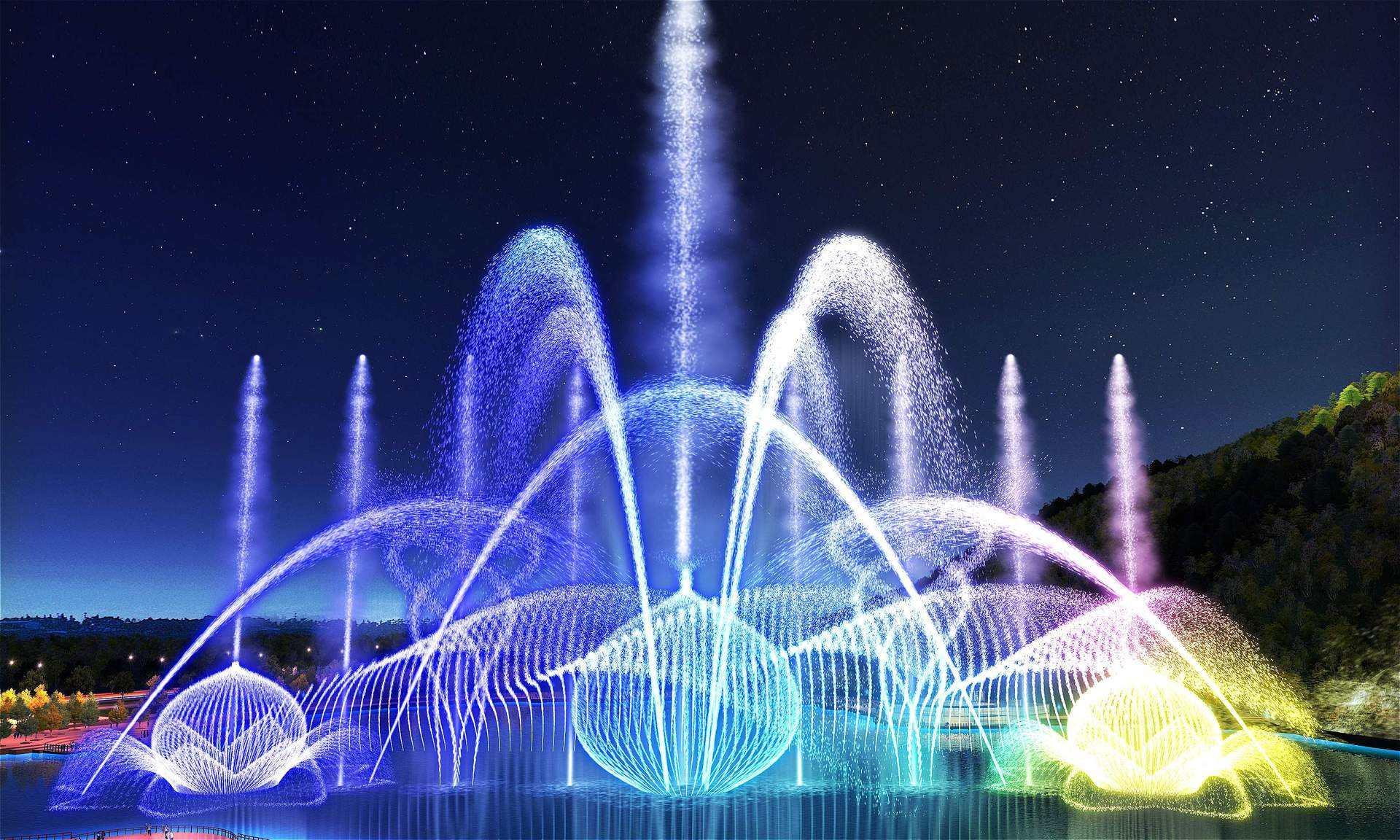 四川旱喷泉