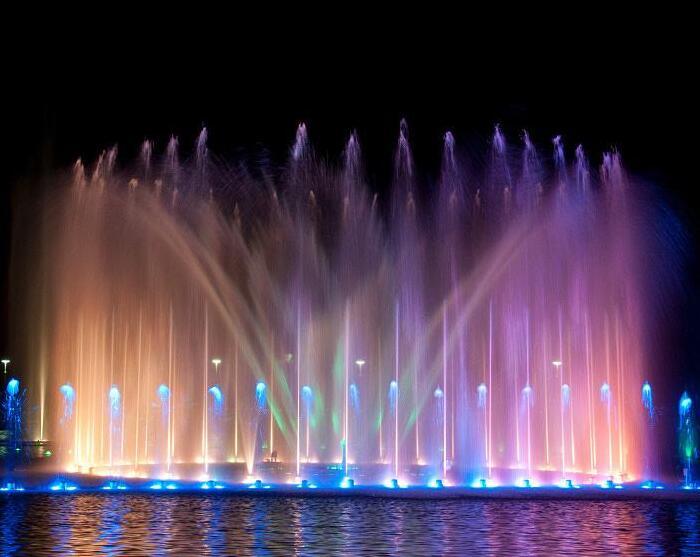 多媒体喷泉