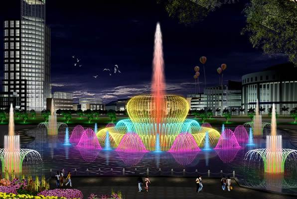 四川程控喷泉设计