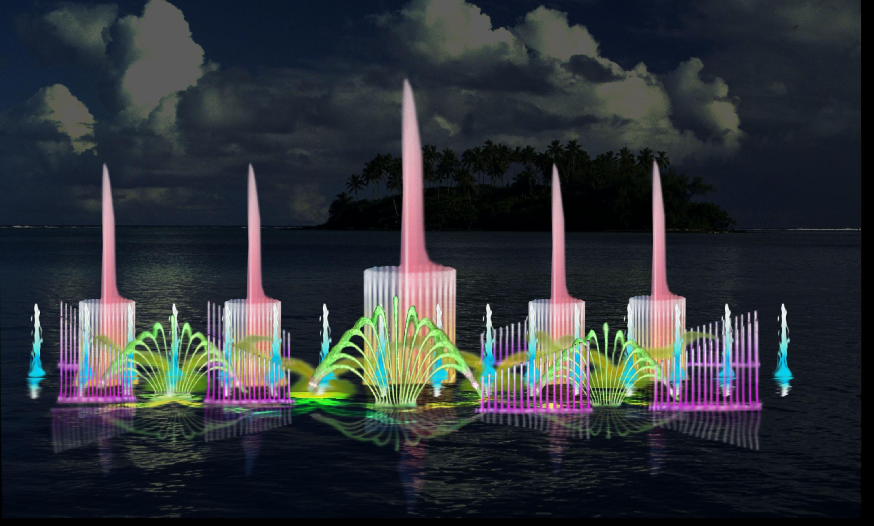 四川音乐喷泉设计