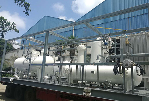 天然气液化制LNG