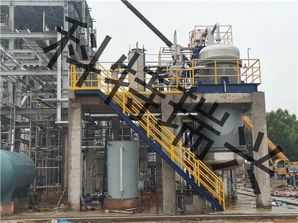 某甲醇制一氧化碳安装现场
