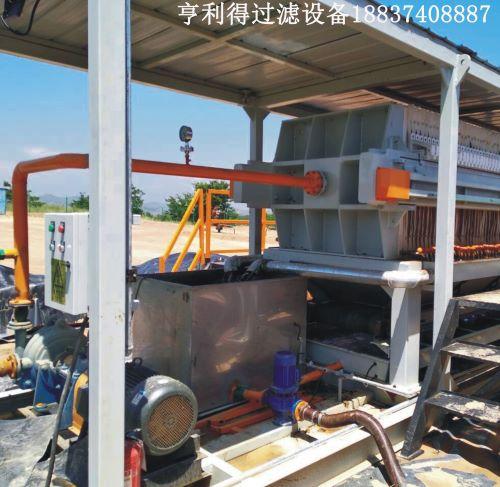 河南板框压滤机与钻井污泥处理合作案例