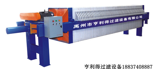 机械压紧压滤机