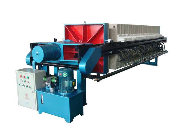 河南厢式压滤机的工作原理及特性