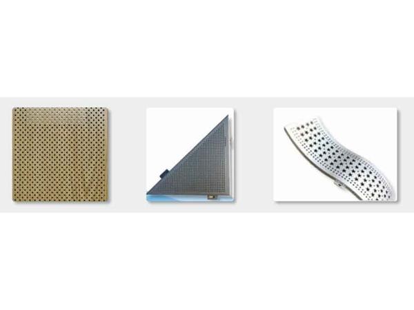 张家口幕墙冲孔异型铝单板加工_铝单板安装方法