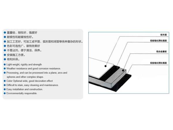 张家口铝单板幕墙_张家口铝单板厂家