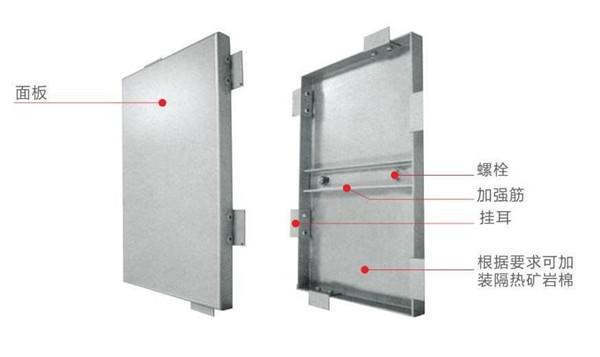 铝单板安装节点示意图