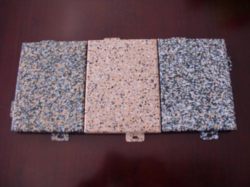 河北铝单板厂家总结,仿石材铝单板有以下精品七大特点。
