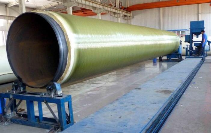 西安玻璃钢架空保温管