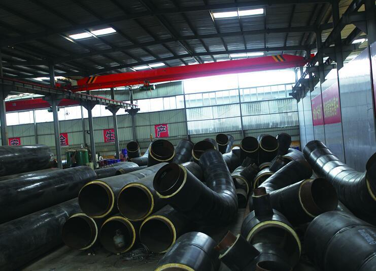 西安钢套钢保温管道的保温结构