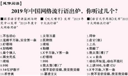 年度网络热词见证生活百态(网上中国)