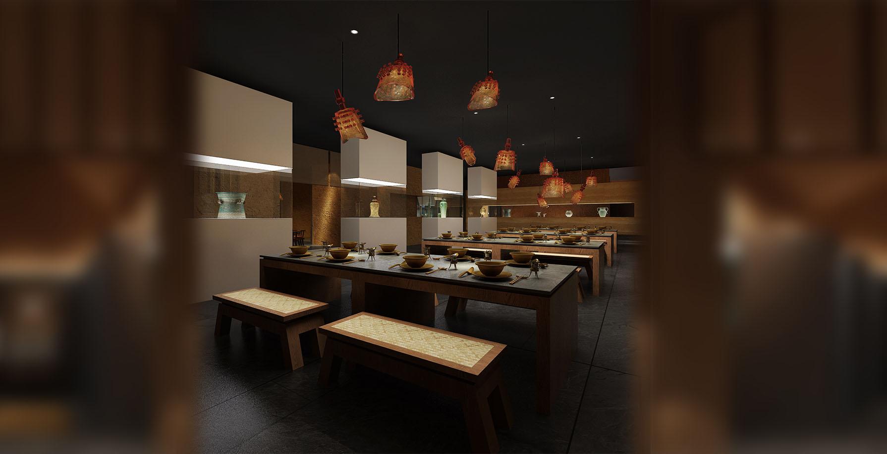 青铜器博物馆餐厅