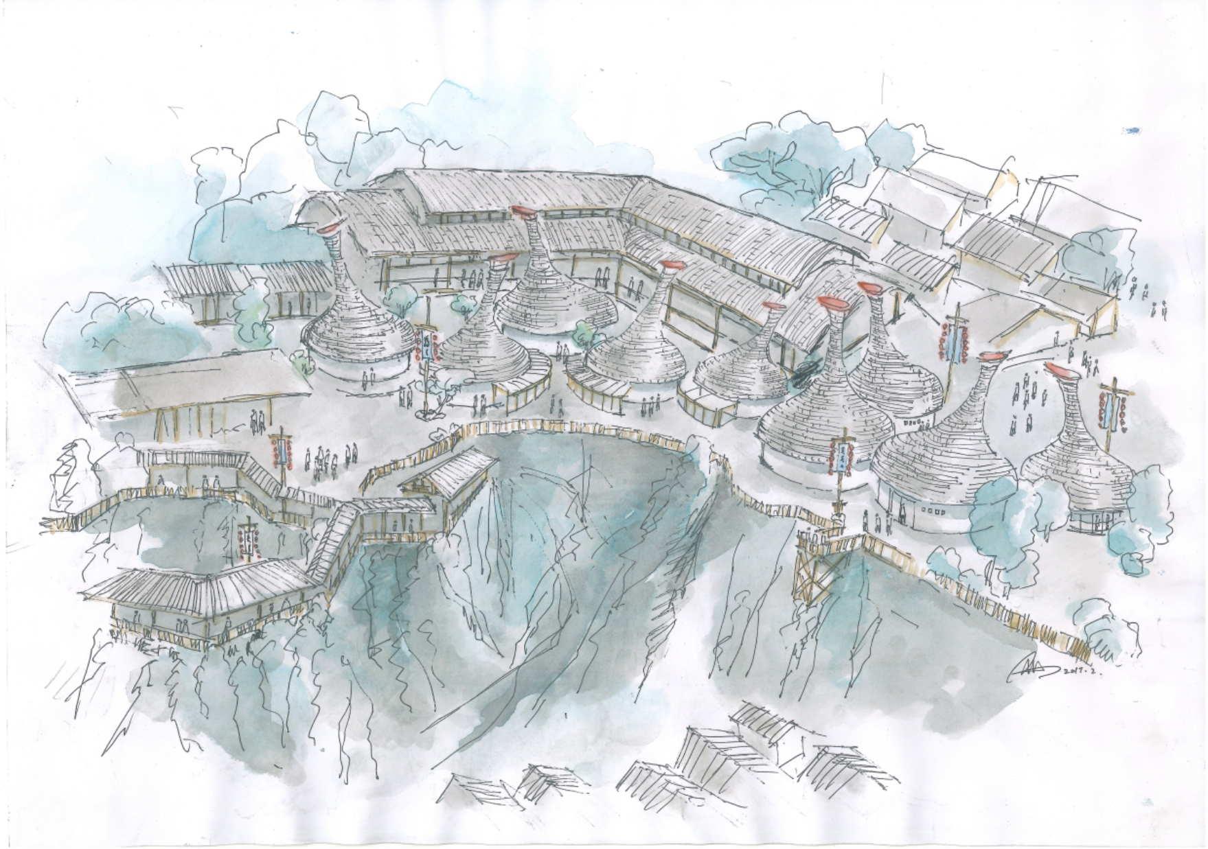 韩城柳村古寨
