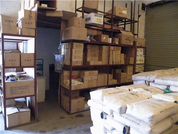 水处理设备配件存放仓库