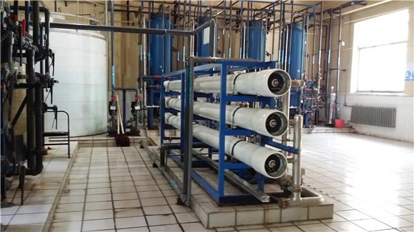 学校反渗透水处理设备安装