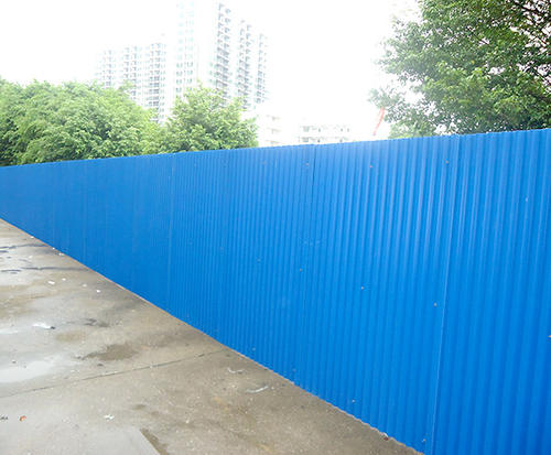 四川彩钢板围挡的优点