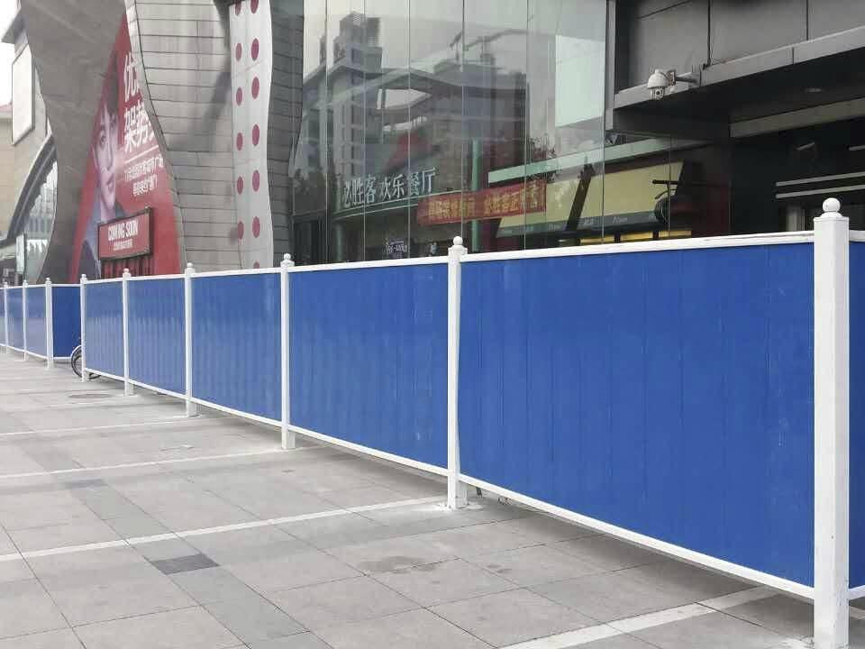 成都PVC围挡护栏有哪些优点?