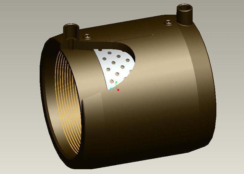 电熔增强型管件模具