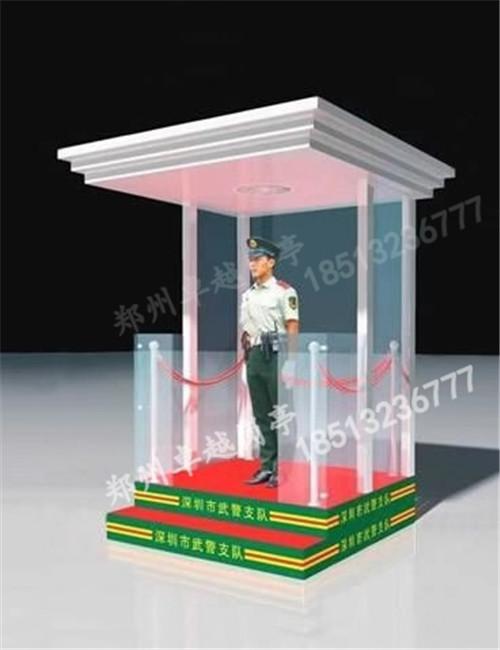 郑州岗亭-T004-防弹玻璃岗亭