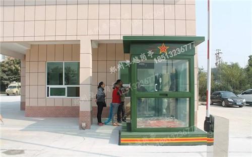 郑州岗亭-T006-防弹玻璃岗亭