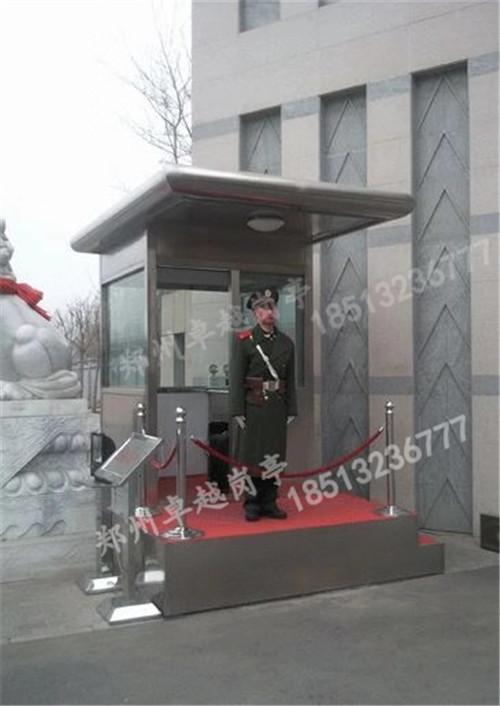 郑州岗亭-T005-防弹玻璃岗亭