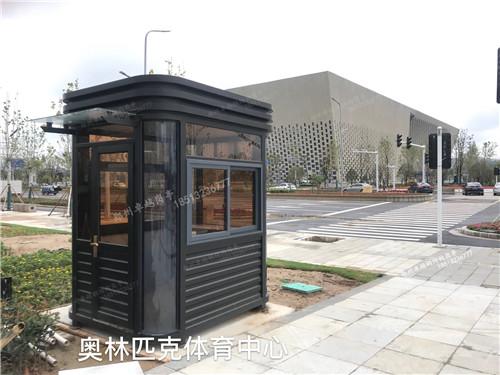 郑州岗亭-T013-钢结构岗亭