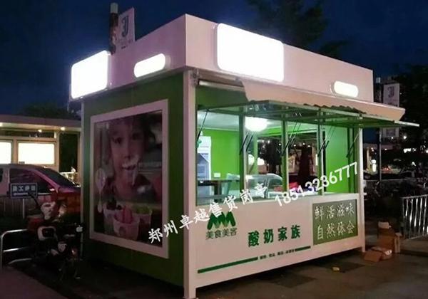 郑州售货亭定制—T053-售货岗亭