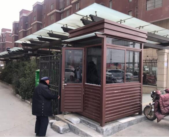 郑州岗亭—华南城停车场岗亭现场