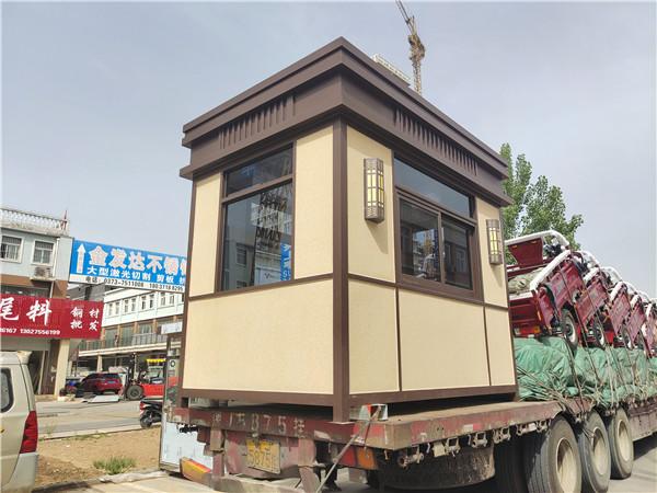 郑州岗亭发往深圳市现场装车图片