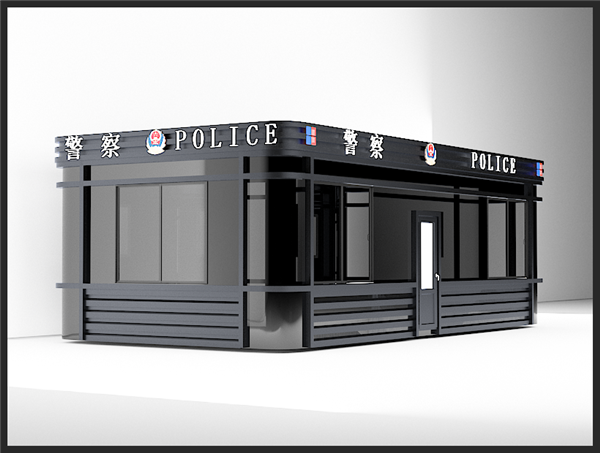 T101-郑州警务岗亭