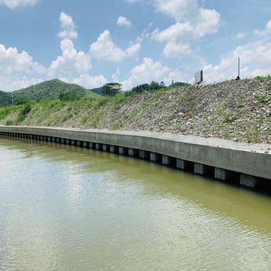 江门棠下中小河流整治施工过程展示