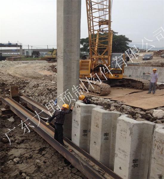 预应力混凝土板桩厂家施工时需要哪些设备?