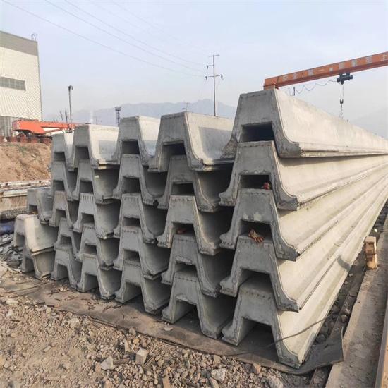 U型混凝土板桩在河道护岸的应用
