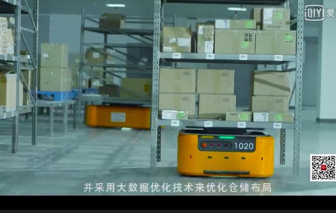 工业4.0——海康威视机器人智能仓储