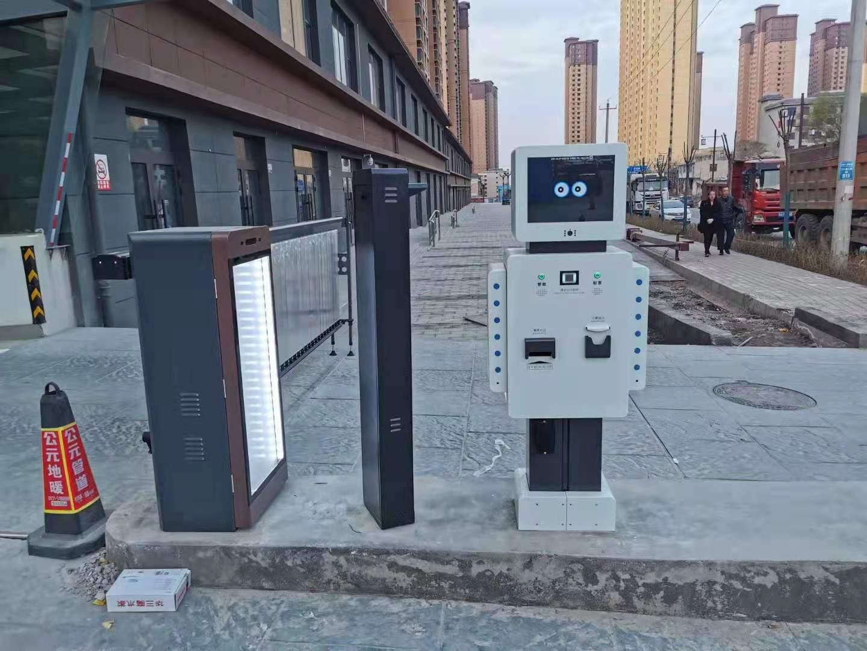 兰州市榆中县某小区选用我司机器人无人值守系统